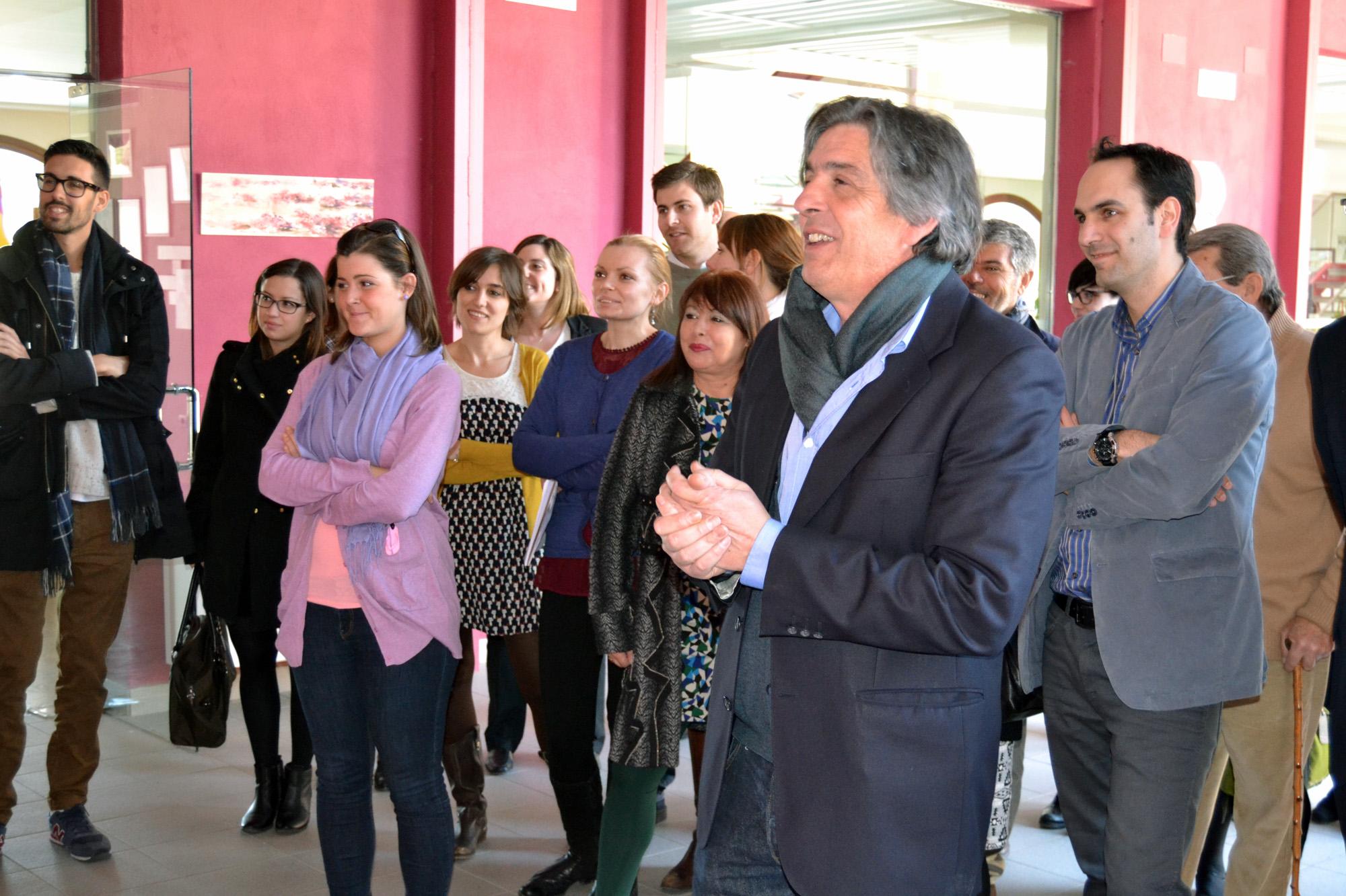 inauguracion exposicion Carlos Montesinos